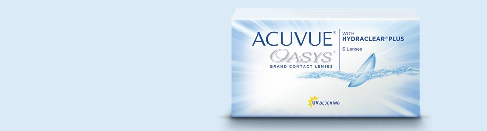 Acuvue Oasys® dvisavaitiniai kontaktiniai lęšiai