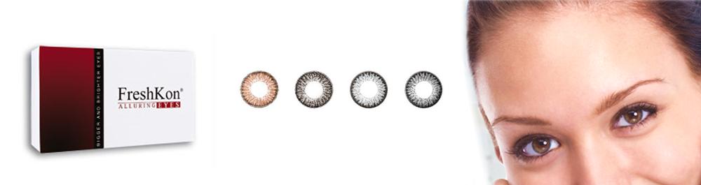 Freshkon® Alluring Eyes spalvoti kontaktiniai lęšiai