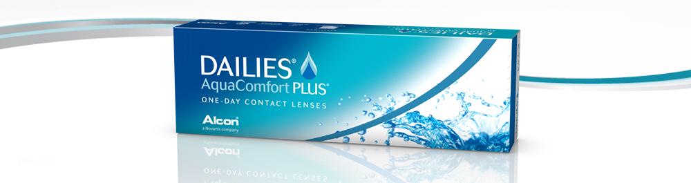 DAILIES® AquaComfort Plus® vienos dienos kontaktiniai lęšiai