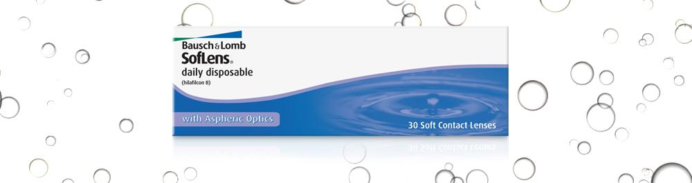 SofLens® daily disposable vienadieniai kontaktiniai lęšiai