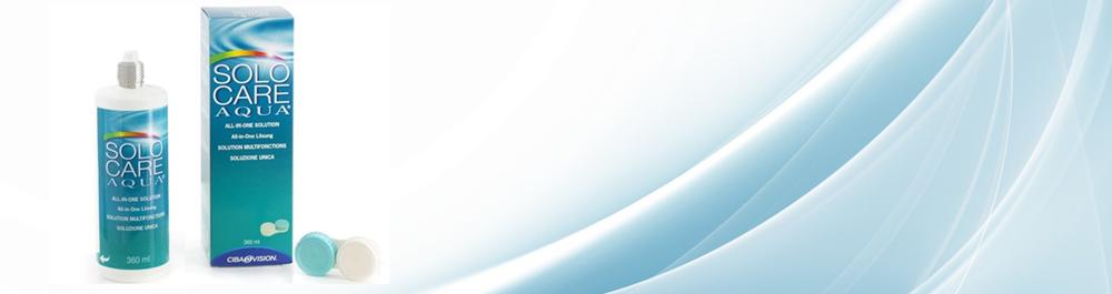 Solo Care Aqua™ kontaktinių lęšių tirpalas